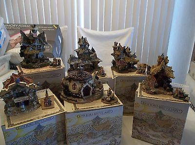 Lot Of 6 Boyds Bearly Built Villages Nib Retired First 1St Editions