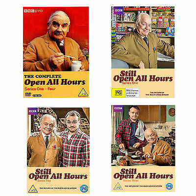 Open All Hours Complete Series 1 - 4 DVD Box Set + Still Open All Hours 1, 2 + 3