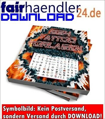 8 Tattoo eBooks mit Bonus! Preisgünstiges Paket Design Tätowierungen Tattoos MRR