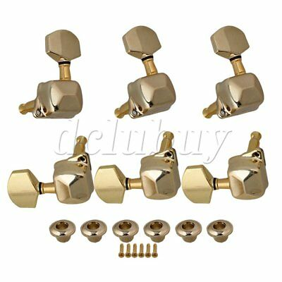 Gold Vintage Machine Heads Semiclosed For Sq Guitar Etc