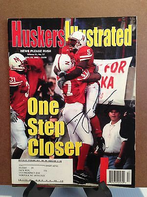 Huskers Illustrated Autographed by DeJuan Groce of the Nebraska Cornhuskers