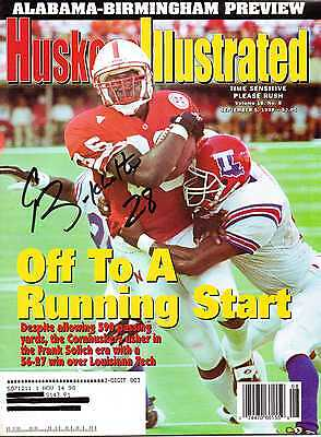 Huskers Illustrated autographed by Correll Buckhalter of Nebraska