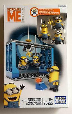 Despicable Me Mega Bloks Factory Fiasco Building Blocks Minions