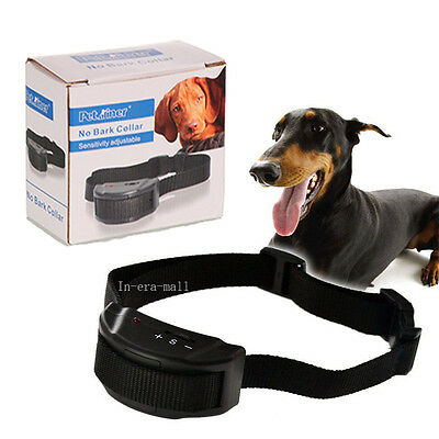 Anti Bark No Barking Training Collar Shock Control For Small Medium Large Dog