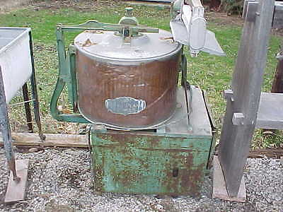 Antique Wringer Washing Machines Voss/Thuro CHOICE Vintage hit miss gas engine
