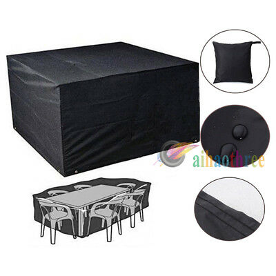 Waterproof Outdoor Garden Furniture Table Chair Rain Cover Dust Cover Protector