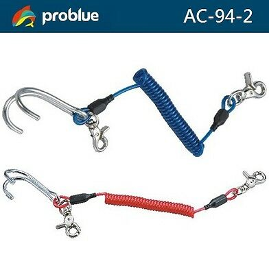 Problue Accessories Stainless Steel Reef Hook (Double Hook) AC-94-2 Diving - AU