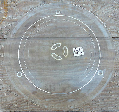 """12"""" Round Microwave Oven Glass Turntable Tray Plate"""