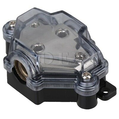 Vehicles Auto Audio ANL 3 Ways Out Fuse Holder Vehicle Power Distributor Block