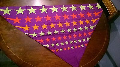 boy scouts 21st  world scout jamboree 2007 necker scarf neckerchief collectable