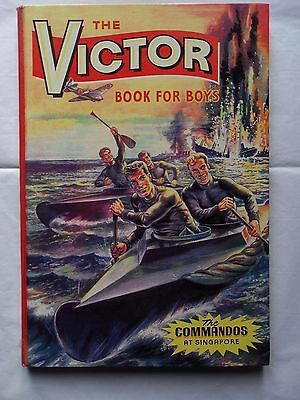 THE VICTOR BOOK FOR BOYS 1965 COMIC ANNUAL NUMBER TWO. No.2 VGC WARLORD HOTSPUR