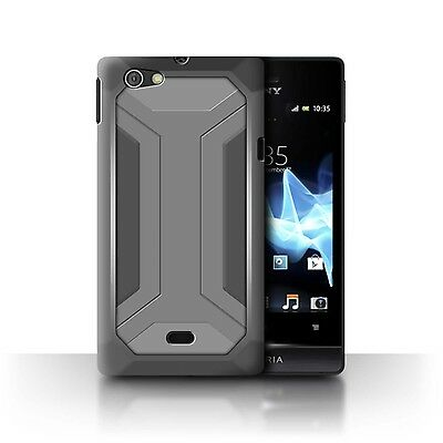 Case/Cover Sony Xperia Miro/ST23I / Armour/Armor / Bracket