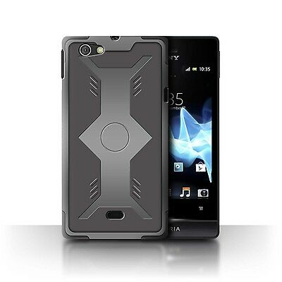 Case/Cover Sony Xperia Miro/ST23I / Armour/Armor / Shield
