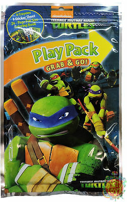 "Teenage Mutant Ninja Turtles Grab and Go Play Pack  ""Ninjas in New York"" NIP"