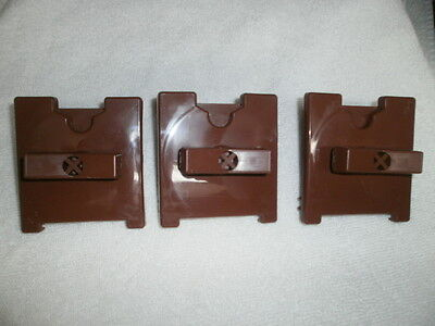 (3) Brown Coin Mechanism for UltraVend, EZVend, EasyVend, EzeVend Candy Machine