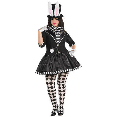 Dark Mad Hatter Women's Plus size Fancy Dress Costume