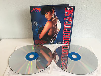 Striptease | Demi Moore | inkl. Making of | Laserdisc PAL Deutsch | Fast wie Neu