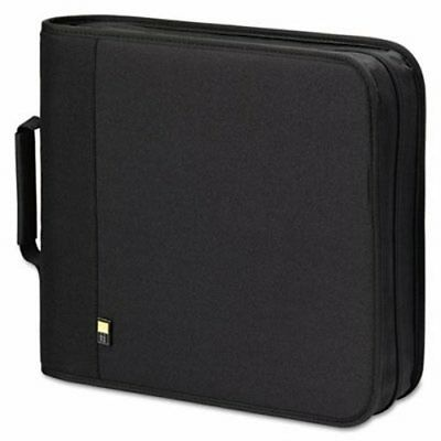 Case Logic CD/DVD Expandable Binder, Holds 208 Disks, Black (CLGBNB208)