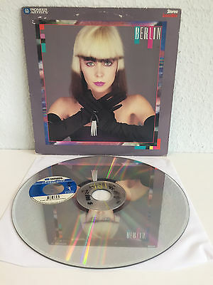 Berlin - Same | Ultra Rare! | Laserdisc N TSC | LD | No More Words, The Metro...