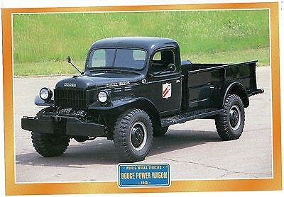 Dodge Power Wagon           Glossy   Picture (T375)