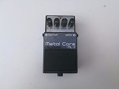 Boss Ml-2 Metal Core - Free Next Day Delivery In The Uk