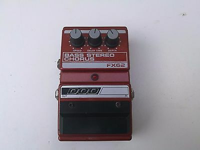 Dod Fx62 Bass Stereo Chorus - Free Next Day Delivery In The Uk