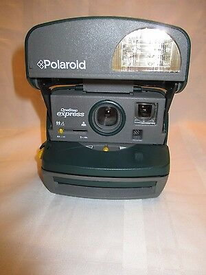 Polaroid Express One Step Instant Camera Green Untested