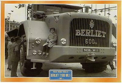 Berliet T1001 NR.1       Glossy   Picture (T393)