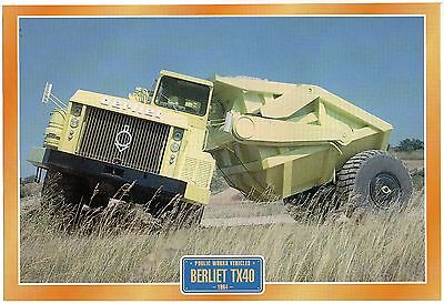 Berliet TX40         Glossy   Picture (T396)