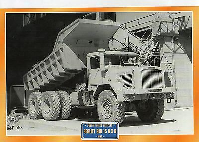Berliet GBO 15 6X6       Glossy   Picture (T397)