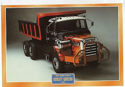 Berliet GBH280         Glossy   Picture (T398)