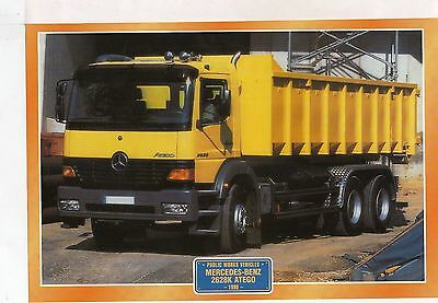 Mercedes-Benz 2628K Atego                        Glossy   Picture (T401)