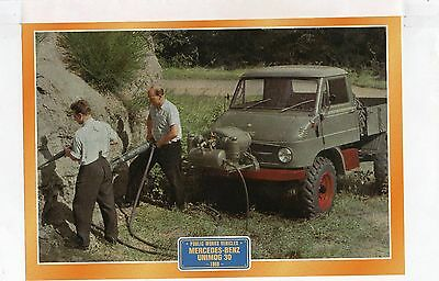 Mercedes-Benz Unimog 30             Glossy   Picture (T405)