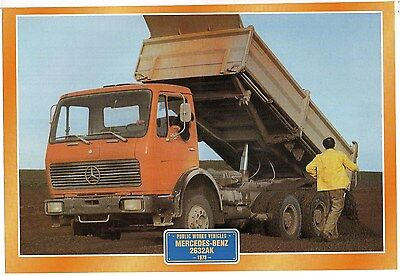 Mercedes-Benz 2632AK               Glossy   Picture (T406)