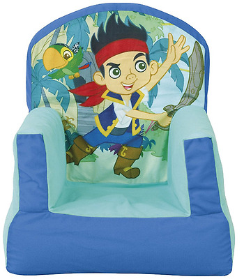 Worlds Apart Jake and The Neverland Pirates Cosy Chair, Kids Seating ReadyRoom