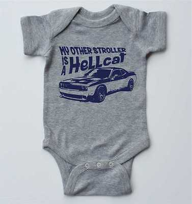 Baby one-piece-Hellcat Challenger-infant bodysuit-baby boy,baby girl gift