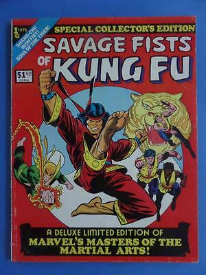 Marvel Treasury Special Collector's Edition 1 Savage Fists Kung Fu 1975 Rare!