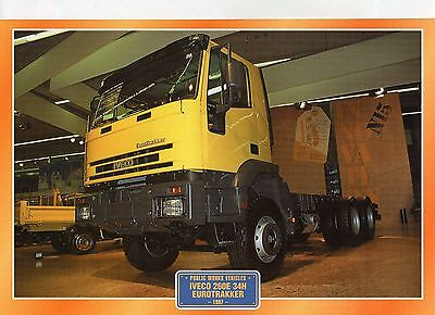 Iveco  260E 34H Eurotrakker             Glossy   Picture (T424)