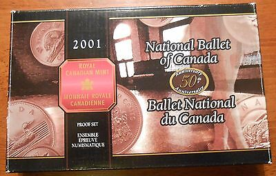2001 Royal Canadian 8 Pieces Proof Coins