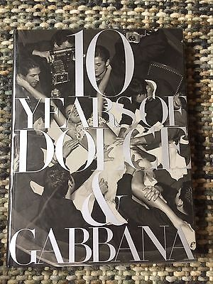 10 Years Of Dolce And Gabbana Rare OOP Book with Madonna Fold Out