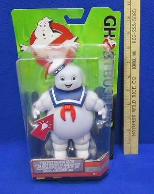 Ghostbusters Stay Puff Balloon Ghost Toy Red Light Up Belly Original Box NOS