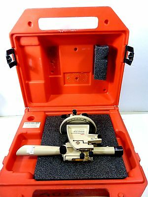 David White Instruments Transit Level Lt6-900 In Hard Case Made In Usa