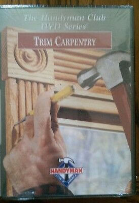Trim Carpentry Instructional / Tutorial / How To Dvd **free Shipping**