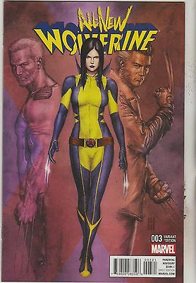 Marvel Comics All New Wolverine #3 February 2016 1:25 Choi Variant Nm