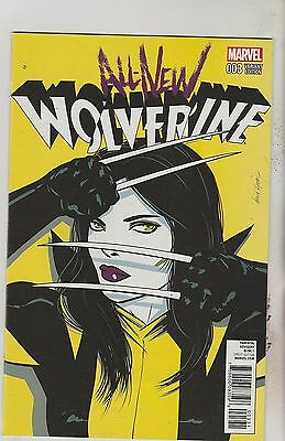 Marvel Comics All New Wolverine #3 February 2016 1:25 Lopez Variant Nm