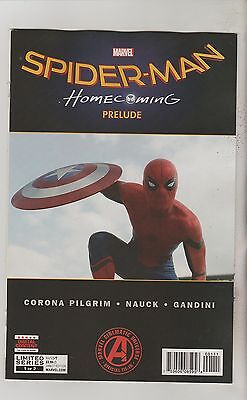 Marvel Comics Spiderman Homecoming Prelude #1 May 2017 1St Print Nm