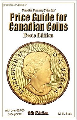 *** New*** 9th Edition Price Guide for Canadian Coins - Basic Edition