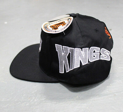 Vintage 90s Era Los Angeles LA Kings snapback hat cap raiders NHL blockhead NEW