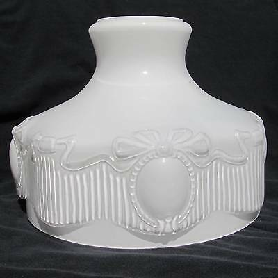 """10"""" Glass Shade fit Aladdin / old student oil lamp Old Pattern #201 Replica"""