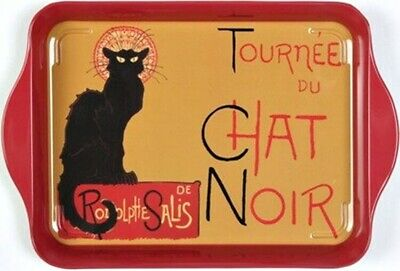 "Tray - ""Tournee du Chat Noir"" - (Tin) 8 1/4"" x 5 1/2"" - Multi-purpose"